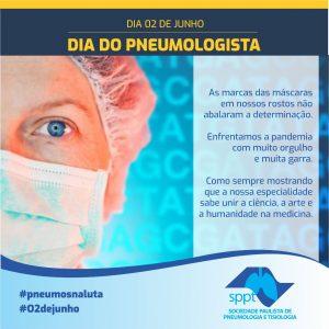O2 de Junho – Dia do Pneumologista